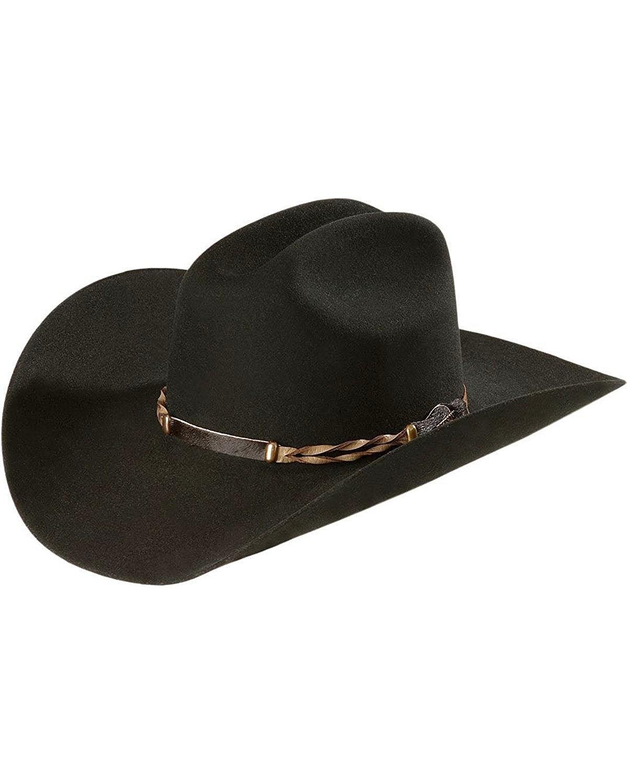 3b22feb6 Get Quotations · Stetson Men's 4X Portage Buffalo Felt Cowboy Hat -  Sbprtg-724207 Black