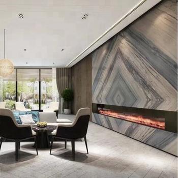 Bk010 Living Room Flooring Tile Blue Marble Stone Wall Tile Buy