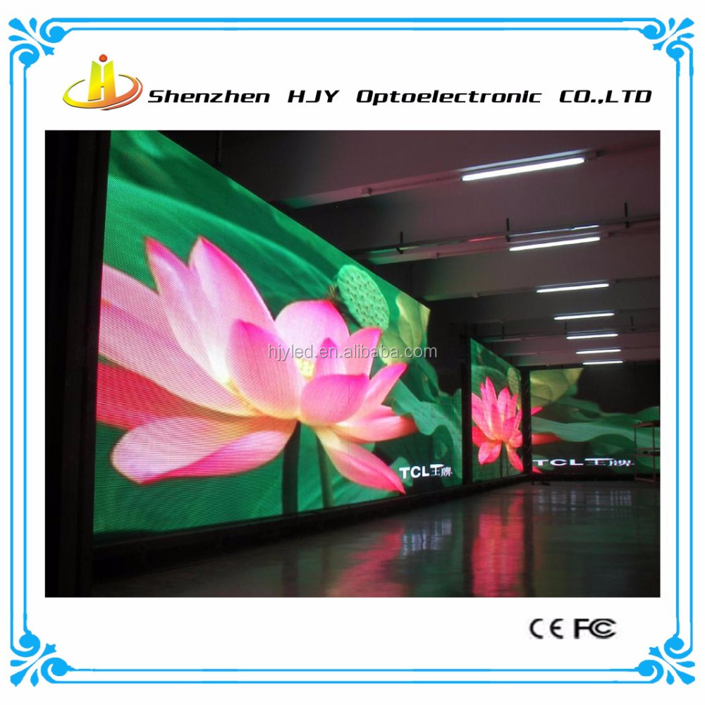 4mm p4 full color advertising indoor led display screen blue picture video