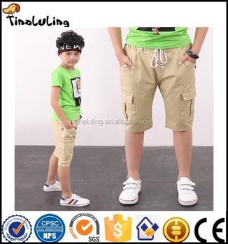 Kids Pants Boys Summer 2017 New Fashion Short Trousers Boys Toddler Pants Children Clothes Teens