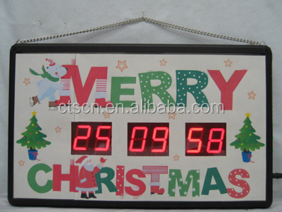 Countdown To Christmas Clock.Led Digital Custom Countdown Christmas Countdown Clock Outdoor Buy Christmas Countdown Clock Outdoor Custom Countdown Clock Digital Clock Kits