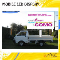 Mobil Truck Led Displays,Stage Decorative Led Display,High Quality Led panel Move Tv 3g/gprs/gps Rental Truck Mobile Led Display