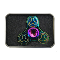 New design Alminum triangle Hand Spinner, Dirt Resistant Fidget Spinner Toy, Fingertip Anti Stress Toys for Kids & Adults