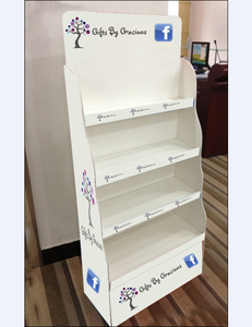 Plastic display stand