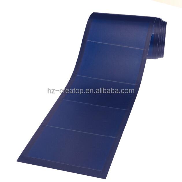 136w film sottile flessibile pannello di copertura solare for Flexible roofing material