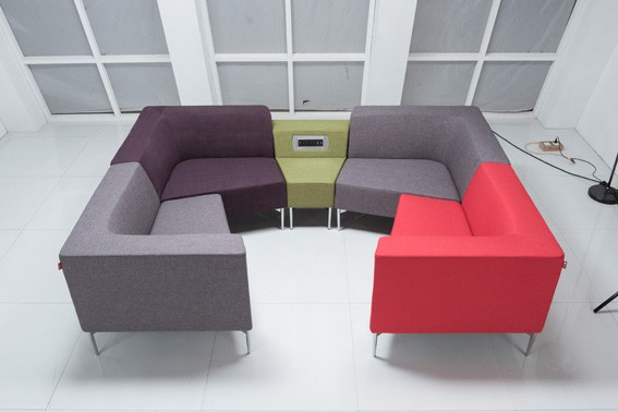 Alibaba Express 2016 Modern Latest Design Leather Office Sofa Set