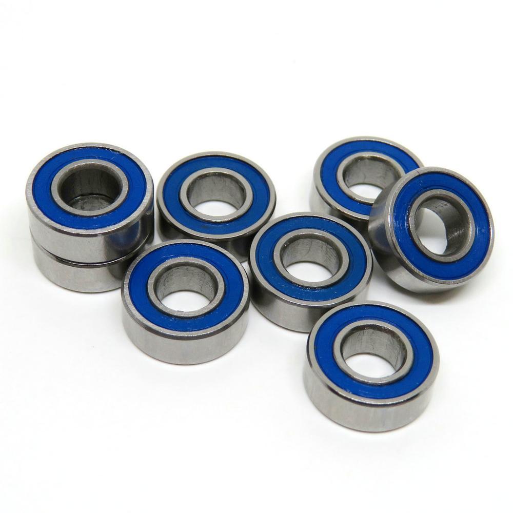 20 PCS MR117-2RS MR117RS 7x11x3 mm YELLOW Rubber Ball Bearing Bearings 7*11*3