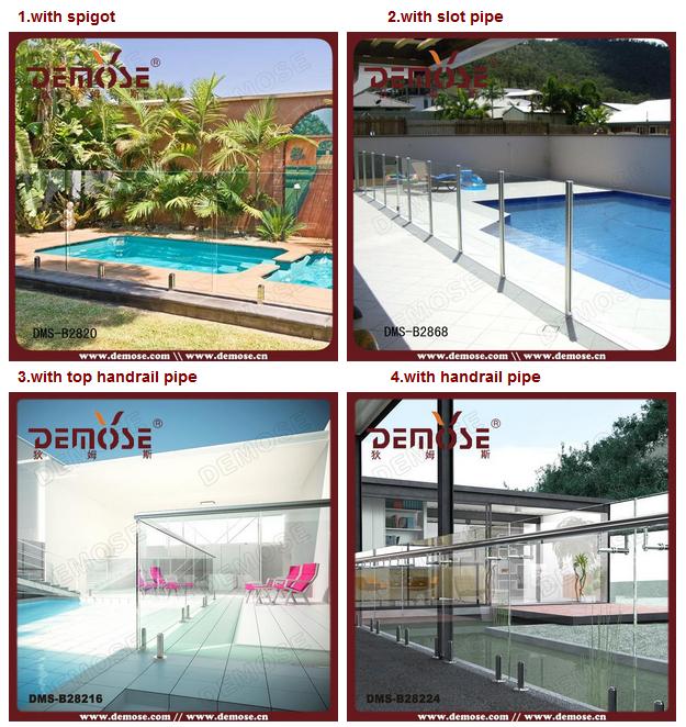 Plexiglass fence panels tempered glass pool fencing for for Plexiglass pool fence