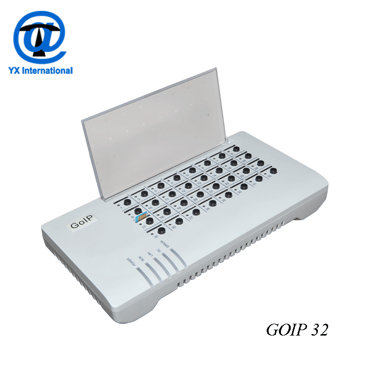 support hot swap simbank32 goip control switch with best price SMB32