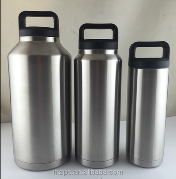 new style 35oz custom printed double wall thermos vacuum flask buy