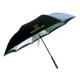 Custom brand print UV coating inside c handle inverted umbrella