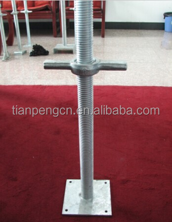 concrete formwork scaffolding u head jack base with jack nut