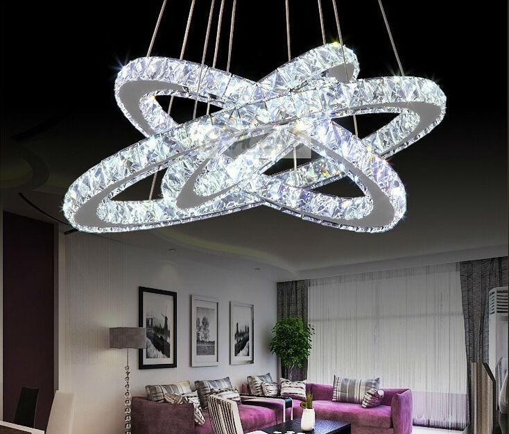 Modern K9 Crystal Ball Pendant Light Kitchen Living Room Hanging Lamp 1  Lights E27 110  Part 86