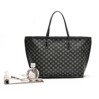 Factory handbag classic women brand bags luxury ladies pu leather vanity bag