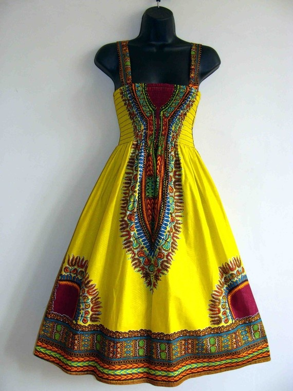 Oem Custom Make African Traditional Dress,African Print Dress Wax ...