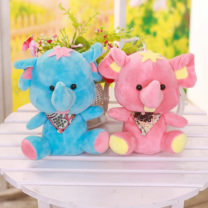 Kawaii Mini Elephant Cute Baby Toys Plush Doll Toys Kids