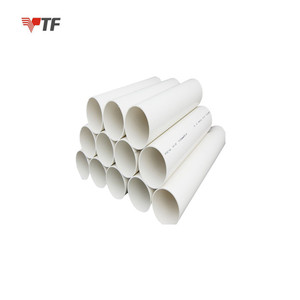 Tianjin wholesale applied to water supply, drainage, electrical conduit system pvc pipe price list
