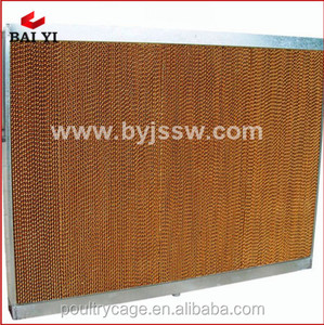 Hot Sale Livestock Farm&Greenhouse Cooling Pad/Evaporative Cooling Pad/Honeycomb Filter For Air Cooling System