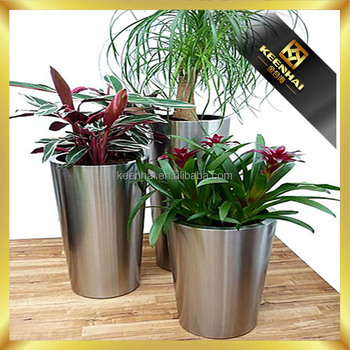 Stainless Steel Pot Stand Big Flower Vase Flower Pot Stand Pictures