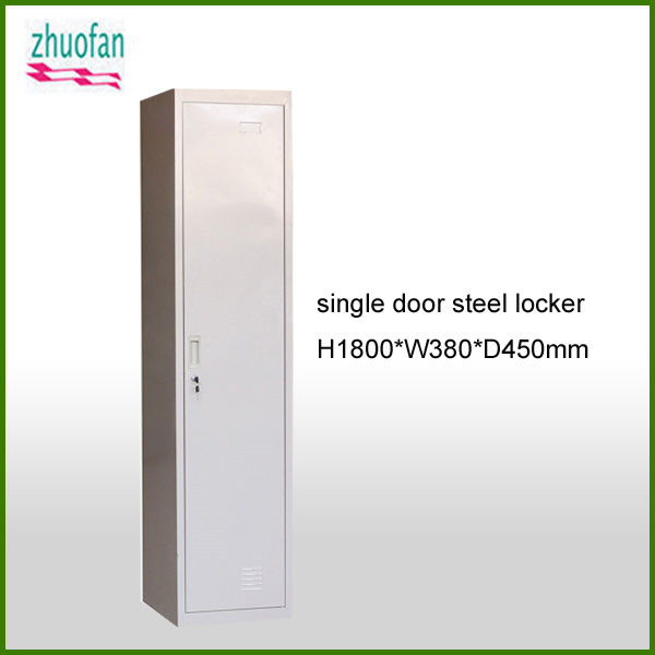 office furniture single door steel wardrobe locker