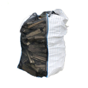 Factory wholesale breathable mesh firewood big bag