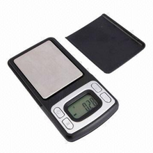 Mini Handheld Jewelry Pocket Scale with Low-battery Indication and Overload protective System Design (NV-J09A)
