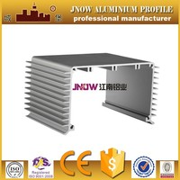 6063 T5 Custom extruded aluminum heatsink enclosure Inverter housing