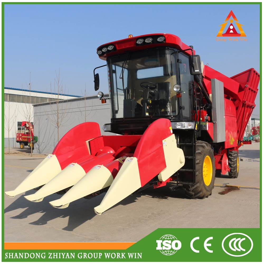 high quality multifunctional bean combine harvester