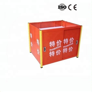 Portable Supermarket Promotion Table For Sale Supermarket promotion counter/promotion desk/promotion table Card pop up promotion
