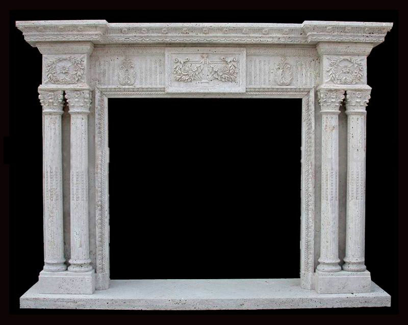 Cantera Stone Fireplace Mantels Suppliers and Manufacturers at Alibaba.com
