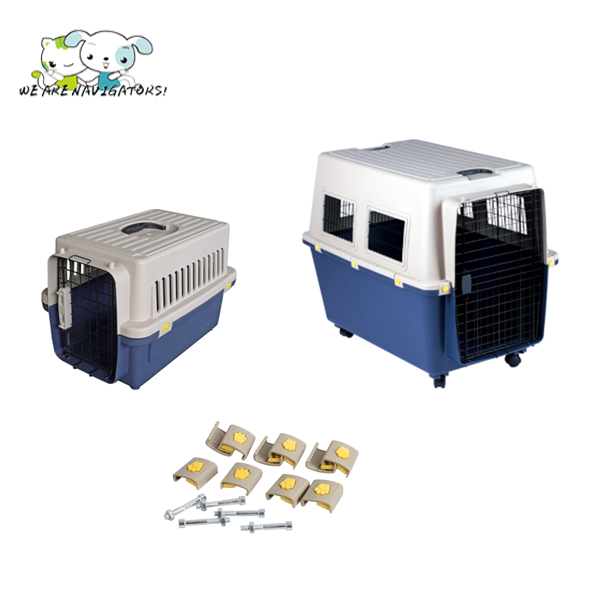 Portable Airline Approved Pet Porter Kennel Cats Travel Cage