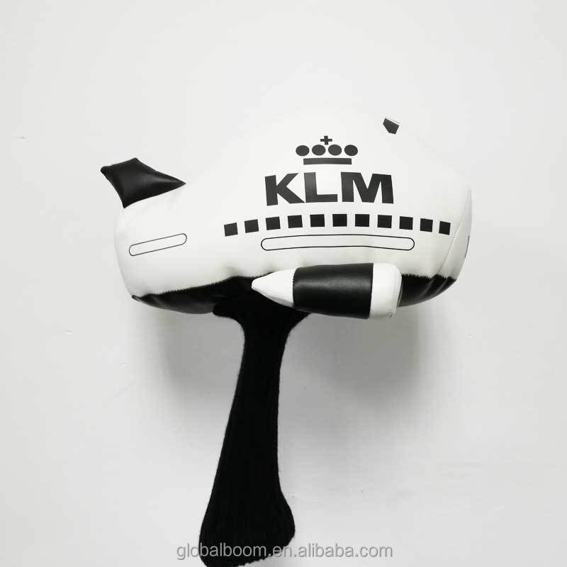 Cute Plane Shaped Knitted Golf Driver Headcovers