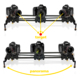 motorized slider auto-loop 80cm / 120cm new ramping carbon fiber video camera dolly track for time lapse