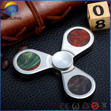 HOT!EDC Toys Triangular Hand Spinner Torqbar Copper Brass Material Professional Finger gyro For Autism and ADHD