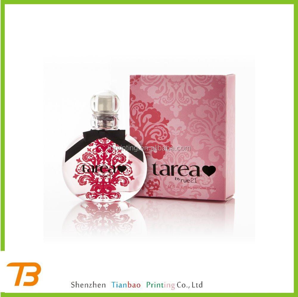 New design private label perfume bottle labels designs
