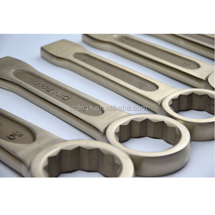 Striking box wrench , non sparking slogging box wrench , DIN7444