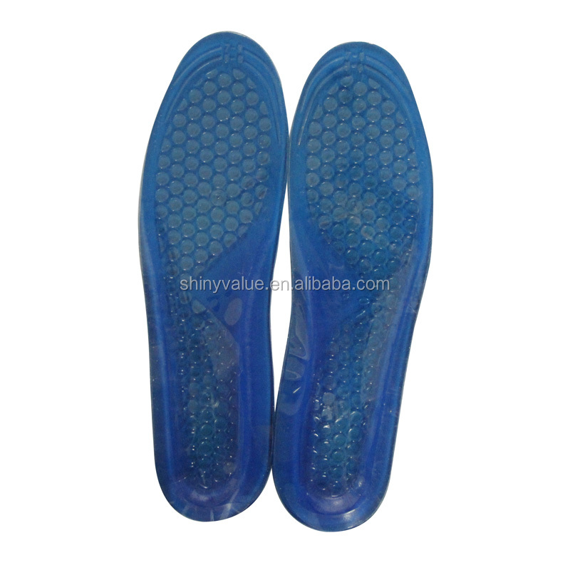 Factory directly supply silicone gel material anti pain TPE gel insoles