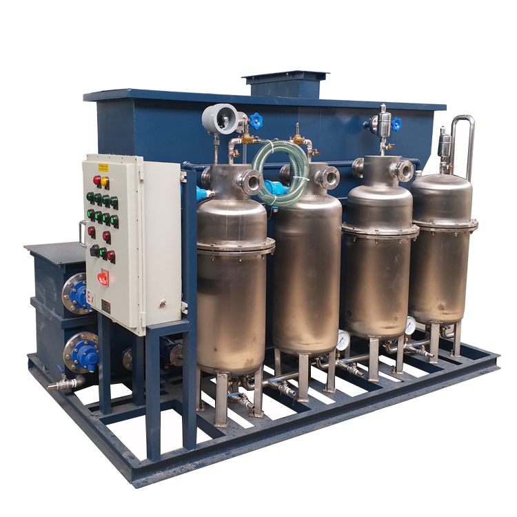 Industrial Oil And Water Separator Machine To Purify Oily Wastewater