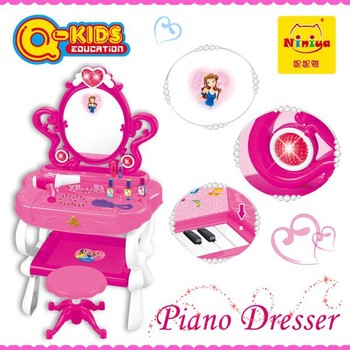 2015 niniya new cheap girl toy with piano