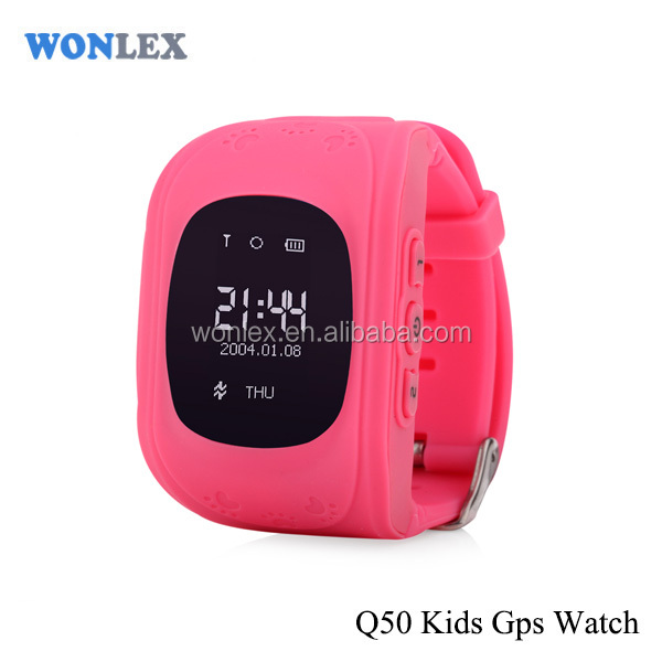 Monitor Health Fitness Tactivity Step Tracker Smart Watch Wonlex gps watch Q50/gps tracker inside sim card for kids