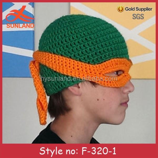 F 320 New Teenage Mutant Ninja Turtles Beanie Crochet Hats Buy