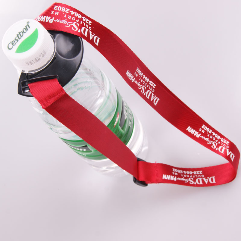 Short strap polyester mobile phone lanyard for cell phone with competitive price