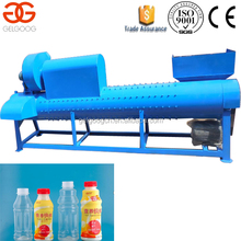 Automatic High Quality PET Bottle Label Remover Machine/PET Bottle Trademark Remover