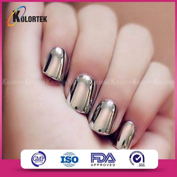 2017 Venta Caliente Espejo Nail Chrome Magic Polvo Pigmento Para ...