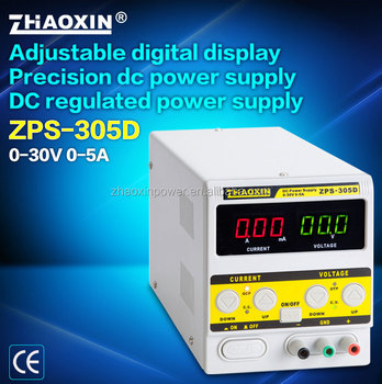 ZPS-305DH 30V 5A zhaoxin NEW High quality adjustable dc power supply with CE approval