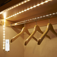 Motion Activated Bed Light Waterproof Flexible Led Strip Light For Baby Crib,Hallway,Cabinets,Under Stairs,Bedroom