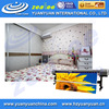 Streched clear Eco solvent/Latex environmental inkjet printing blank pvc wall covering in roll