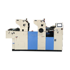 chinese supplier promotional non woven bag 2 color offset printing machine