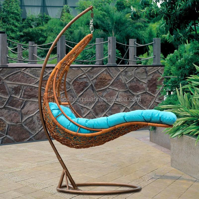 Sillas Colgantes Para Jardin Beautiful Doble Muebles De Exterior - Silla-colgante-de-mimbre