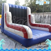 Hot Sale Inflatable Velcr Wall Cheap Sticky Wall Inflatable with Suit for Sale